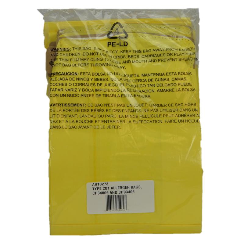 Hoover Backpack Vacuum Bags Oem Ah10273