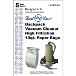 Dust Care Backpack Vacuum Bags