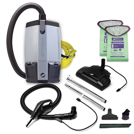 Proteam Backpack Vacuum Provac Fs 6 With Power Nozzle