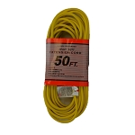 Commercial Extension Cord 16/3 Yellow
